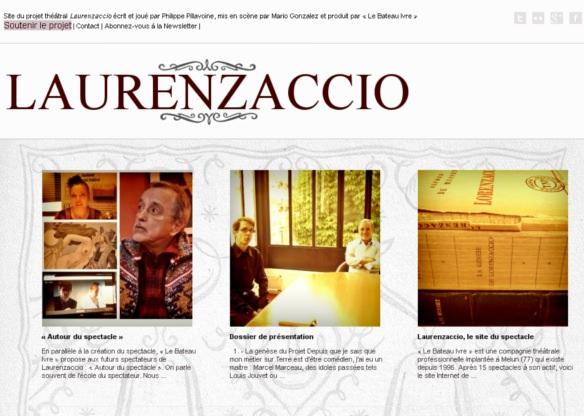 Laurenzaccio, le site