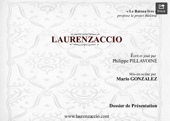 Laurenzaccio, Dossier de présentation