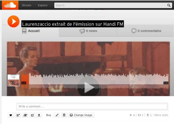Laurenzaccio sur Handi FM