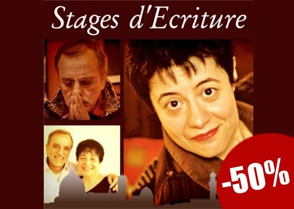 Stage d'Écriture à -50%