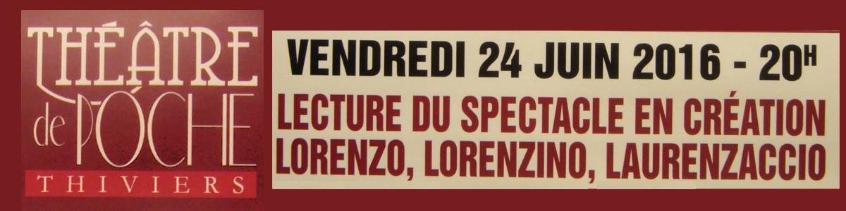 Lecture de « Lorenzo, Lorenzino, Laurenzaccio »