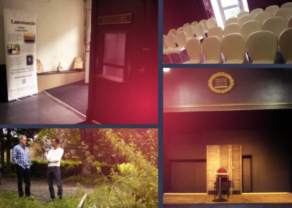 Lecture au Théâtre de Poche