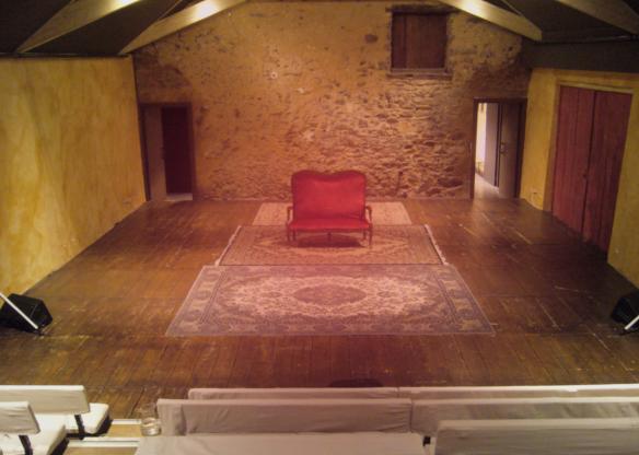Deuxième jour au Théâtre de Chaoué