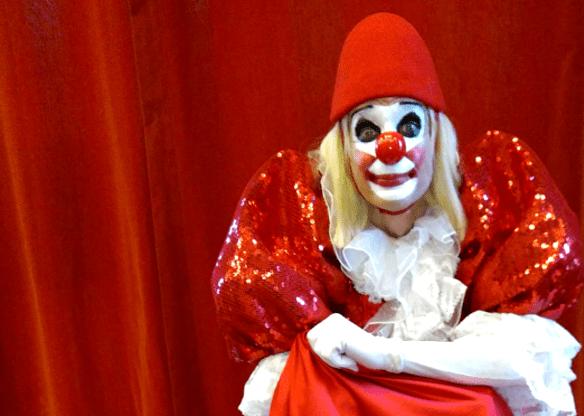 Le clown Laurent est venu répéter | Photo de Mario Gonzalez
