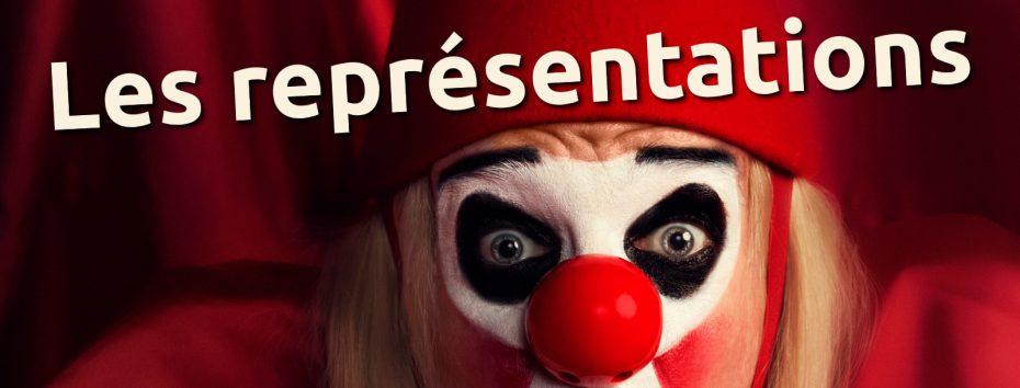Les représentations du spectacle Laurenzaccio tragédie clownesque mise en scène par Mario Gonzalez et jouée par Philippe Pillavoine